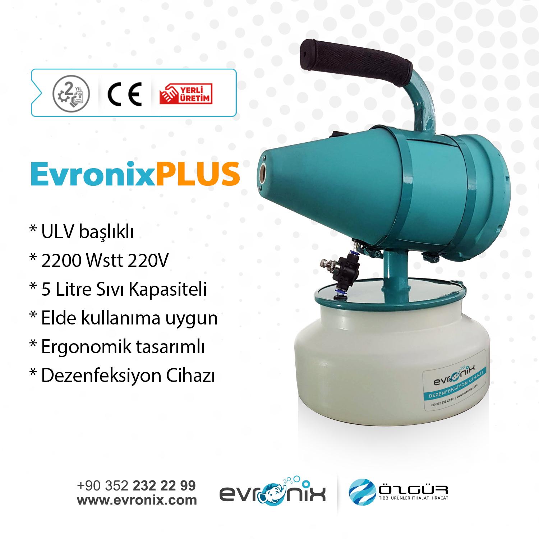 Evronix PLUS ulv ilaçlama cihazı